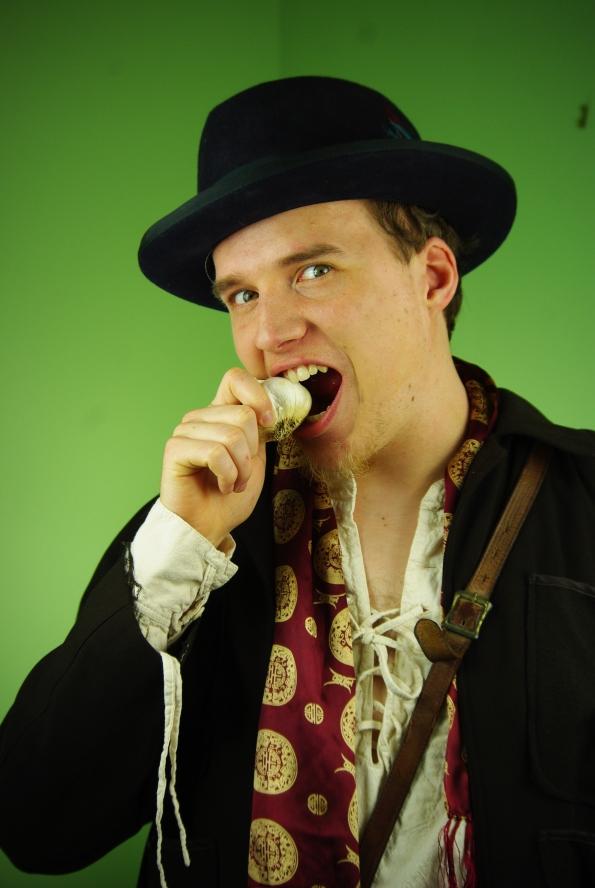 Photo Andrew Wade as Dr. Van Helsing