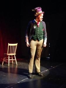 The Hatter onstage in Regina - Photo by Shelby Lyn Lowe