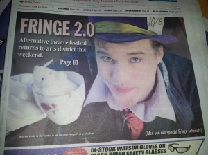 The Hatter - Port Alberni newspaper