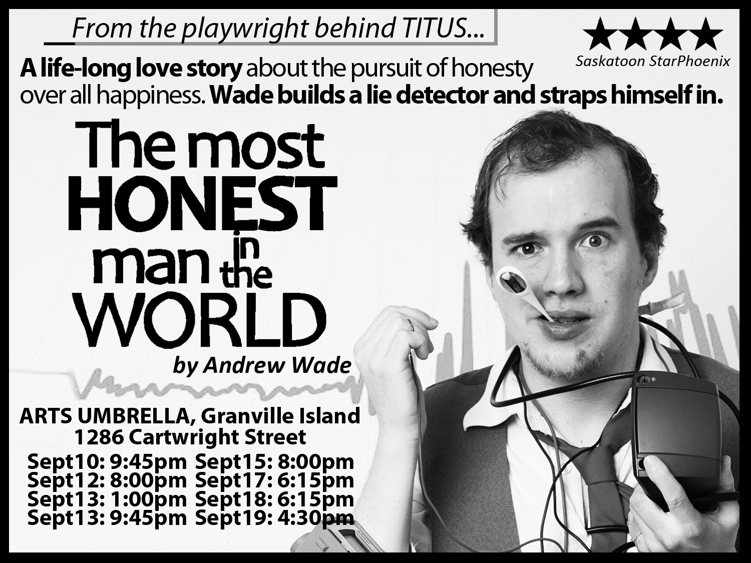 Honest Man advertisement for TITUS program